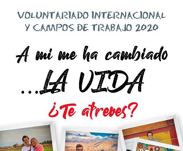 ¡Atrévete a vivir una experiencia de Voluntariado Internacional y Campo de Trabajo!