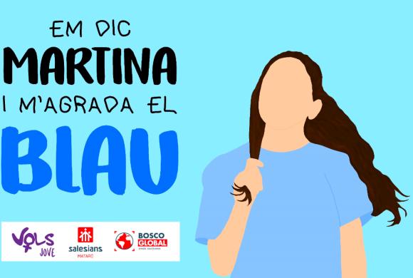 """Campaña jóvenes: """"Me llamo Martina y me gusta el azul"""""""